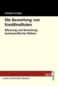 Cover Die Bewertung von Kreditinstituten