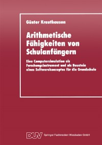 Cover Arithmetische Fahigkeiten von Schulanfangern