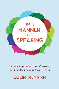 Cover In a Manner of Speaking