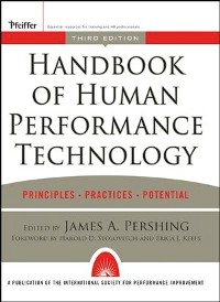 Cover Handbook of Human Performance Technology