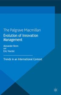 Cover Evolution of Innovation Management