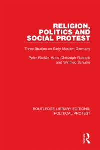 Cover Religion, Politics and Social Protest