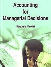 Cover Accounting for Managerial Decisions