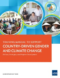 Cover Training Manual to Support Country-Driven Gender and Climate Change
