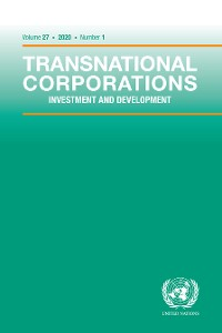 Cover Transnational Corporations Vol.27 No.1