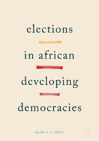Cover Elections in African Developing Democracies