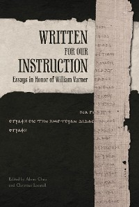 Cover Written for Our Instruction