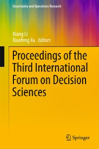 Cover Proceedings of the Third International Forum on Decision Sciences