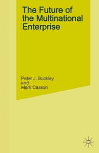 Cover Future of the Multinational Enterprise, 2nd ed