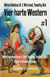 Cover Vier harte Western #1