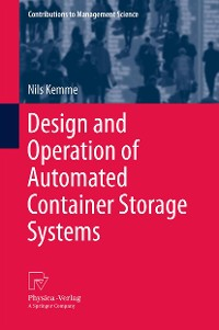 Cover Design and Operation of Automated Container Storage Systems