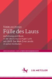 Cover Fülle des Lauts