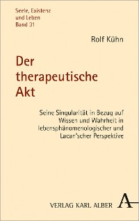 Cover Der therapeutische Akt