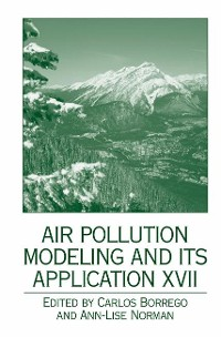 Cover Air Pollution Modeling and its Application XVII