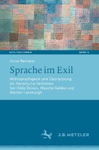 Cover Sprache im Exil