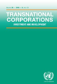 Cover Transnational Corporations Vol.26 No.3