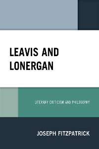 Cover Leavis and Lonergan
