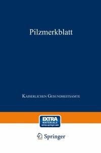 Cover Pilzmerkblatt