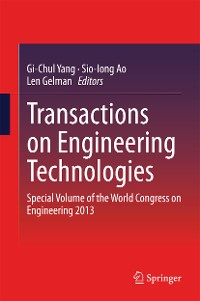 Cover Transactions on Engineering Technologies