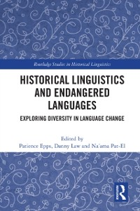 Cover Historical Linguistics and Endangered Languages