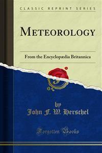 Cover Meteorology