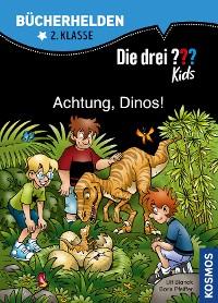 Cover Die drei ??? Kids, Bücherhelden, Achtung, Dinos! (drei Fragezeichen Kids)