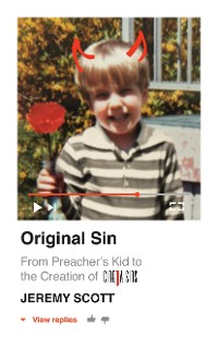 Cover Original Sin:  From Preacher's Kid to the Creation of CinemaSins (and 3.5 billion+ views)
