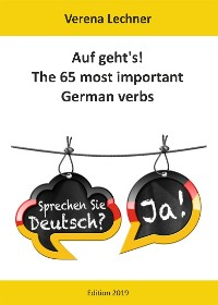 Cover Auf geht's! The 65 most important German verbs