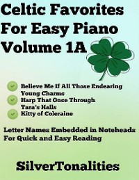 Cover Celtic Favorites for Easy Piano Volume 1 A