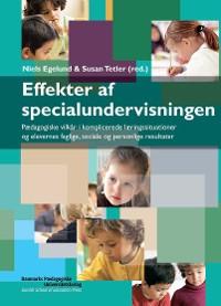 Cover Effekter af specialundervisningen
