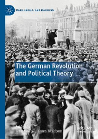 Cover The German Revolution and Political Theory