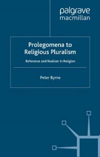 Cover Prolegomena to Religious Pluralism