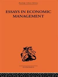 Cover Essays in Economic Management