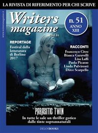 Cover Writers Magazine Italia 51