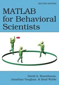 Cover MATLAB for Behavioral Scientists