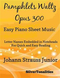 Cover Pamphlet's Waltz Opus 300 Easy Piano Sheet Music