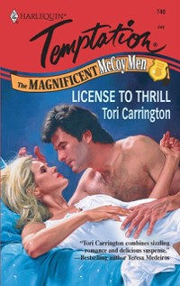 Cover License to Thrill (Mills & Boon Temptation)