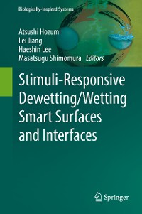 Cover Stimuli-Responsive Dewetting/Wetting Smart Surfaces and Interfaces