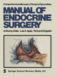 Cover Manual of Endocrine Surgery