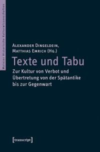 Cover Texte und Tabu