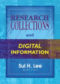 Cover Research Collections and Digital Information