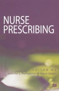 Cover Nurse Prescribing