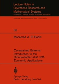 Cover Constrained Extrema Introduction to the Differentiable Case with Economic Applications