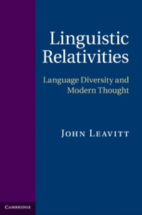 Cover Linguistic Relativities