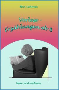 Cover Vorlese-Erzählungen ab 8