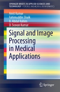 Cover Signal and Image Processing in Medical Applications