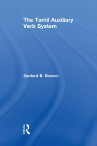 Cover Tamil Auxiliary Verb System