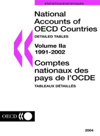 Cover National Accounts of OECD Countries 2004, Volume II, Detailed Tables