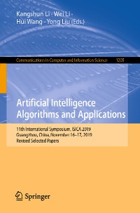 Cover Artificial Intelligence Algorithms and Applications