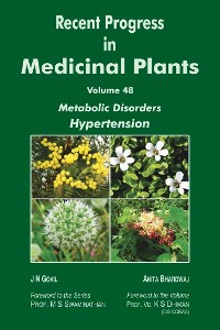 Cover Recent Progress in Medicinal Plants (Metabolic Disorders Hypertension)